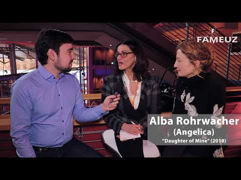 """Interview with film director and cast of """"Daughter of Mine"""" Berlin Film Festival 2018"""
