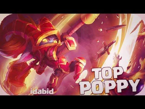 POPPY TOP AD VS EL GORDETE GRAGAS A HACER PUPA NADA TANQUE :D LEAGUE OF LEGENDS español