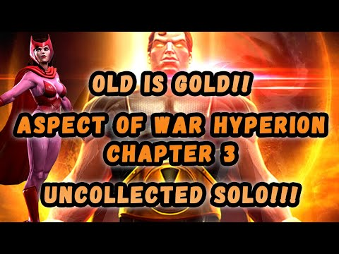 Hyperion Uncollected Solo With Scarlet Witch - Marvel Contest of Champions
