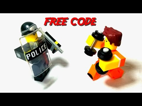 Roblox Game Pack Action Figure Prison Life Toys Game A Roblox Prison Life Game Pack Review Free Code Youtube
