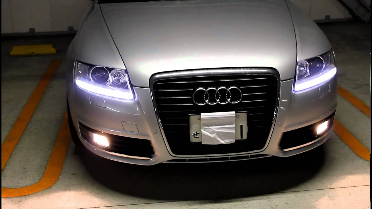 Audi A6 Led Beam As Leavinghome Cominghome Youtube