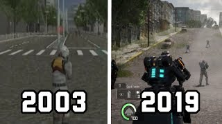 EVOLUTION - Earth Defence Force (2003-2019)