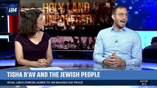 Rabbi Benji Levy on i24 talks about Tisha B'Av and Jewish Unity