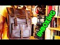 💼Polare Retro Full Grain Leather 17 Laptop Backpack 🔪Unboxing & First Impression Review!🎒