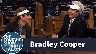 Jimmy talks to Bradley Cooper about his Broadway return in Elephant Man, but their visors make it hard to get serious in this uncut version of their interview.