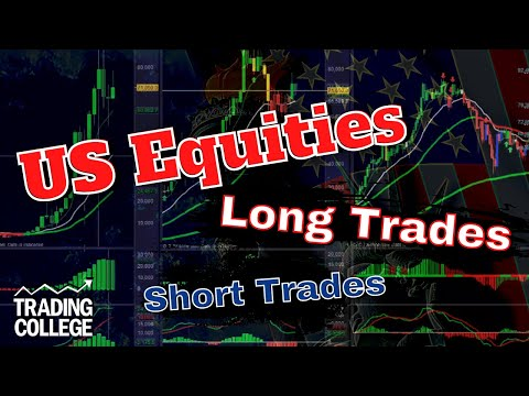 Short & Long Trade Examples - US Stocks Shares Equities | Learn to Trade | Trading College UK
