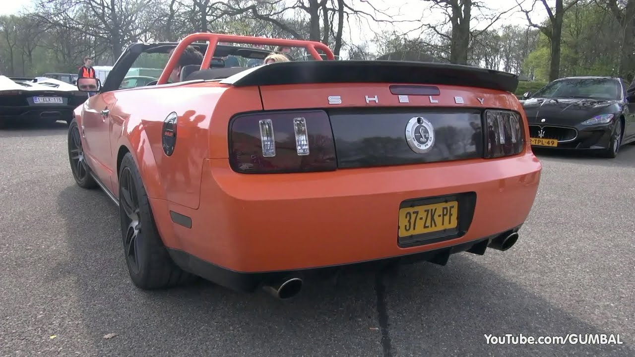 625HP Ford Mustang Shelby GT500 Convertible - LOUD SOUNDS ...