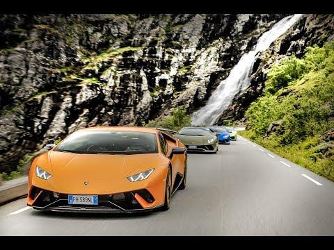 Lamborghini Avventura Norway 2018 - Unravel Travel TV