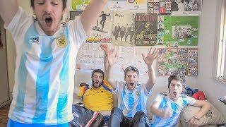 Rusia vs Argentina | Reacciones de Amigos