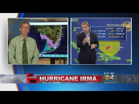 Acting NHC Director Ed Rappaport Discusses Hurricane Irma