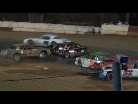 Street Stock Smashfest @ Iron Giant-River City Speedway 2019