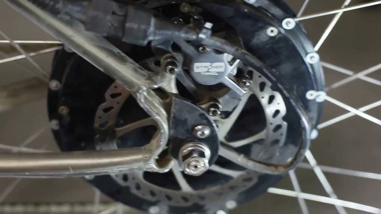 Crystalyte Torque Arms Mod Electric Bike Youtube