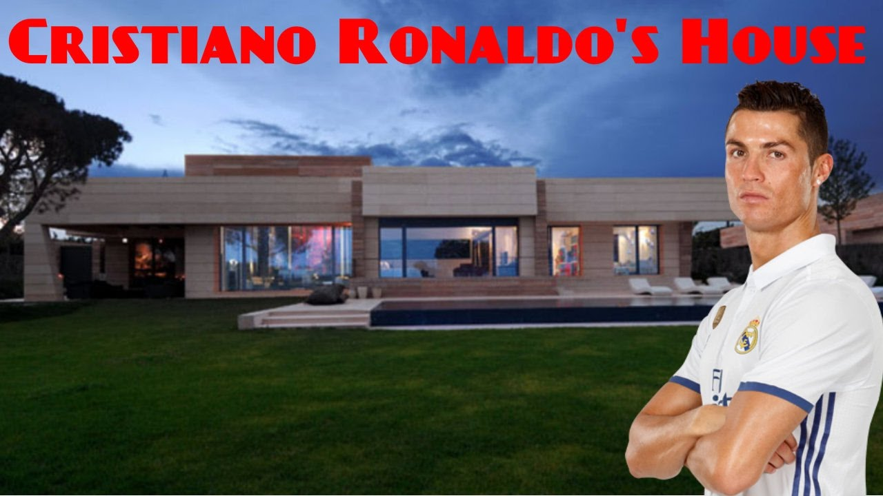 Cristiano ronaldos house 2017 inside and outside