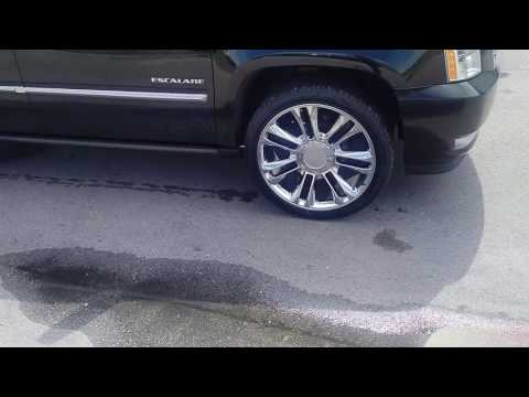 877-544-8473 22 Inch Chrome Escalade Factory Wheels, Cadillac caps available Free Shipping