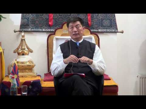 Public Talk by Sikyong Lobsang Sangay on 26.11.2016 to the Tibetans in Germany, Part 2 Q&A