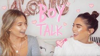 BOY TALK! | VALENTINES DAY EDITION | Sophia and Cinzia
