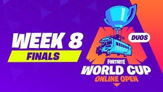 Fortnite World Cup - Week 8 Finals