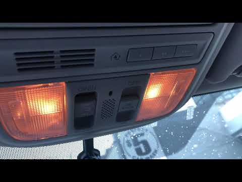 Honda Pilot - How to turn on/off interior ceiling lights