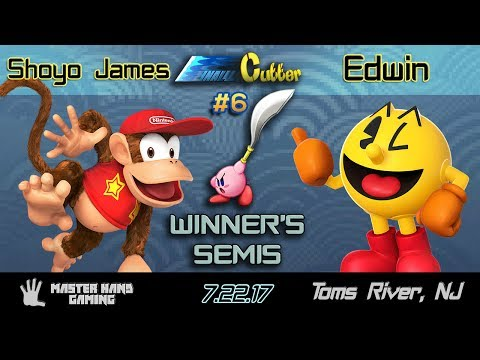 Final Cutter 6 - Shoyo James (Diddy Kong) vs. Edwin (Pac Man) - Winner's Semifinals