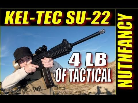"Kel-Tec SU-22: ""4 Pounds of Tactical"" by Nutnfancy"
