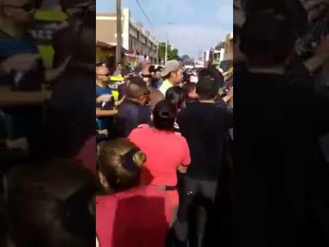 A punto de linchar a borracho que estrelló su en escuela, sucedió en San Luis Potosí