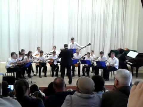 Детский оркестр РНИ руководитель Бурляев Д А