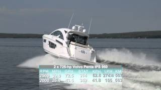 Cruisers Yachts 60 Cantius Test 2015- By BoatTest.com