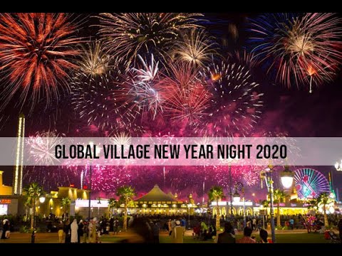 Dubai Diaries part 2 | Global Village Dubai | Near Year Night 2020