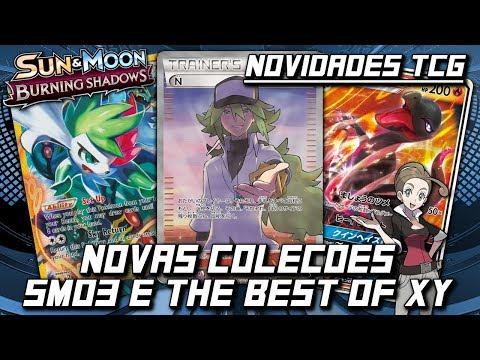 ➤ TCG Notícias: Sun and Moon 3 e The Best of XY!