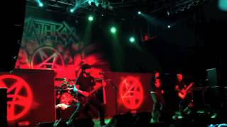 "ANTHRAX ""BE ALL, END ALL""@HOUSE OF BLUES-ORLANDO, FL 11-1-11"