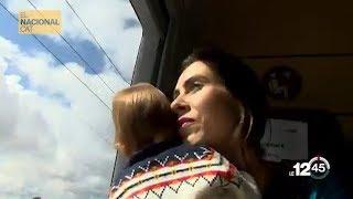 La TV suiza acompaña a Txell Bonet a Soto del Real y queda impactada