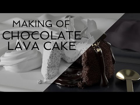 Digital Desserts - Chocolate Lava Cake