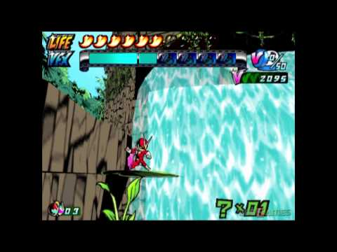 Viewtiful Joe 2 - Gameplay PS2 HD 720P