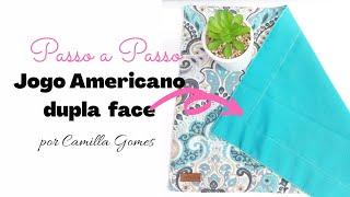 Jogo Americano – Dupla Face