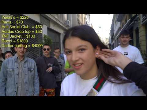 How Much is Your Outfit? ft. Young Hypebeasts $15,000 Flexing GREECE