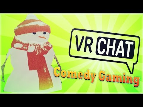 VR Chat - Hot Dog Vs. Snowman - TyTys Weenie - Comedy Gaming