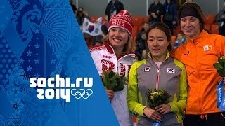 Ladies' Speed Skating - 500m - Lee Wins Gold | Sochi 2014 Winter Olympics