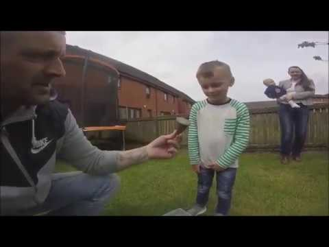 Flat Earth   Even a 4 year old gets it  globe is embarrassing & an insult 480P