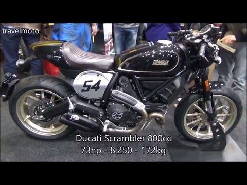 The new Ducati 2017 Scrambler 800cc
