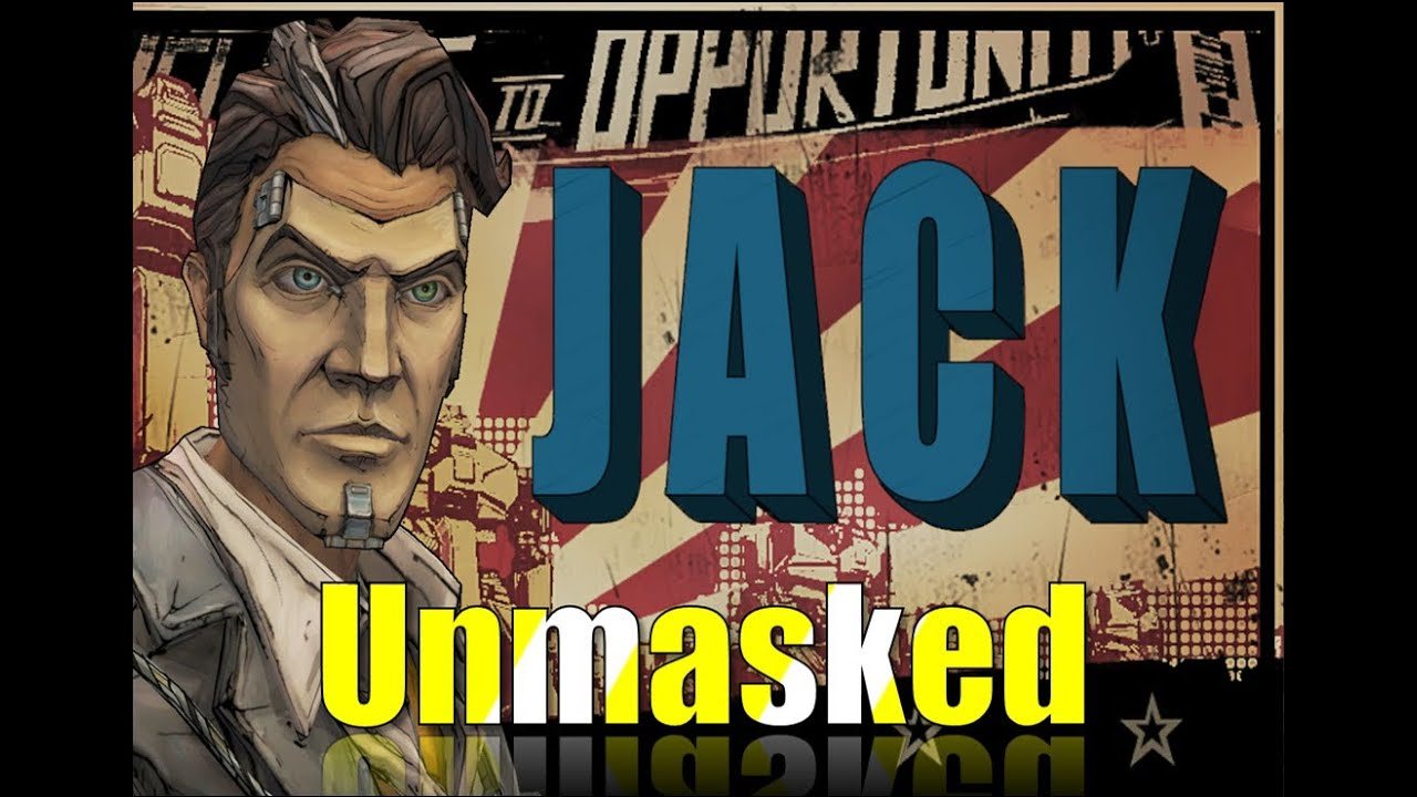Handsome Jack S Real Face Borderlands 2