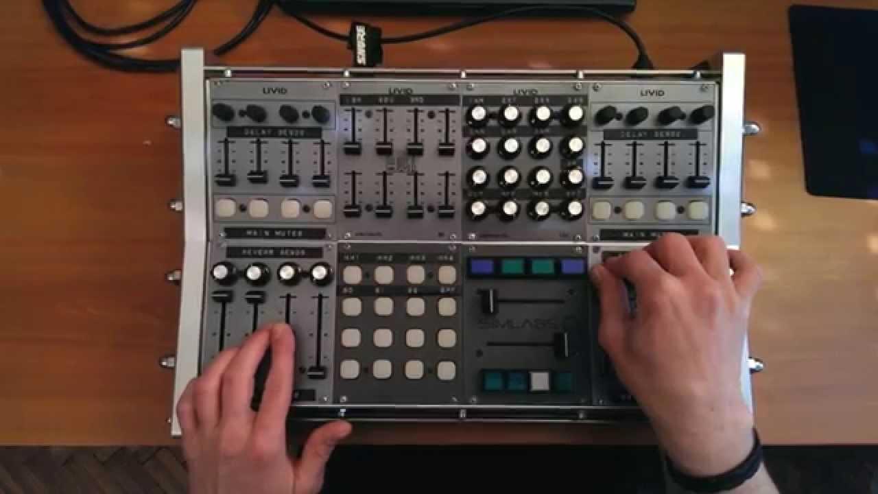 Midi Controller Custom : reason 8 custom livid modular midi controller simoniel 39 39 stalker 39 39 youtube ~ Russianpoet.info Haus und Dekorationen