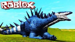 "Matador De Rex ""Tuojiangosaurus"" | Primal Life ""Roblox"" (#8) (Gameplay/PT-BR)"