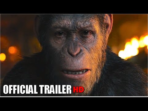 WAR FOR THE PLANET OF THE APES - Caesar  Movie Trailer 2017 HD   Movie Tickets Giveaway