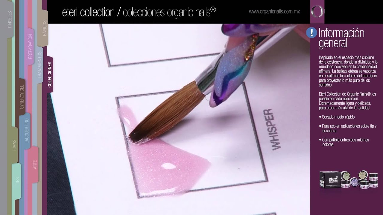 Eteri Collection / Organic Nails - YouTube