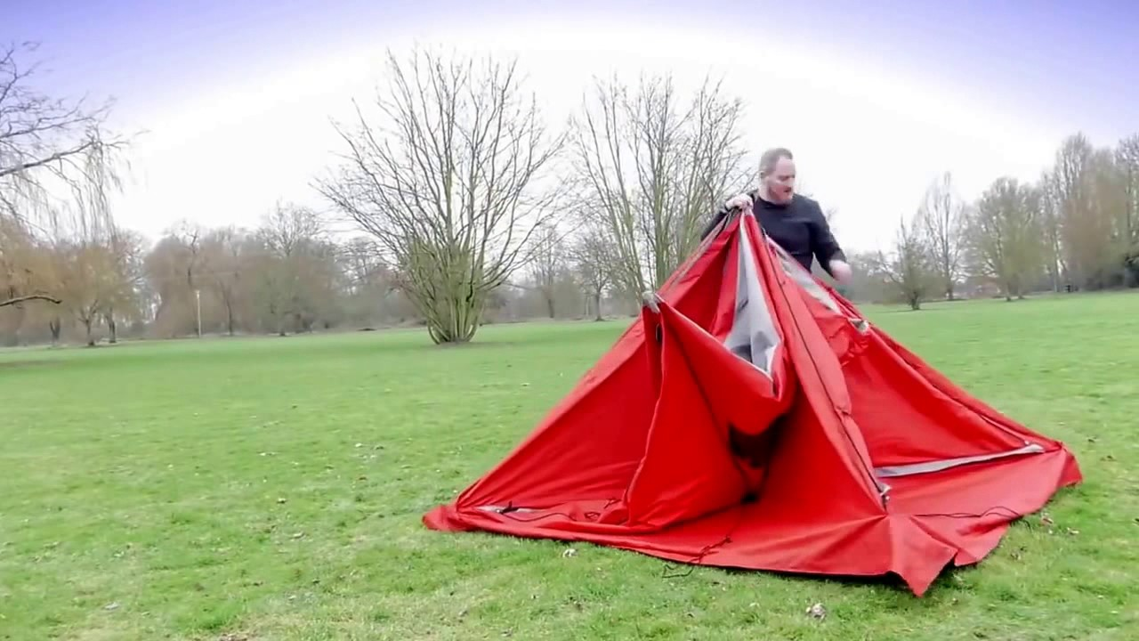 C&ing Tents that can be linked - QUBE Tents & Camping Tents that can be linked - QUBE Tents - YouTube
