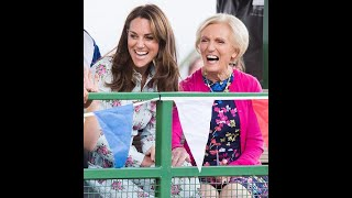 The Great Royal Bake Off! Kate Middleton teams up with Mary Berry for Christmas TV special