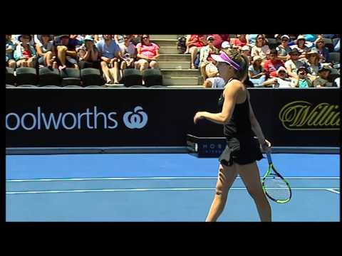 Eugenie Bouchard v Alize Cornet - Full Match Replay