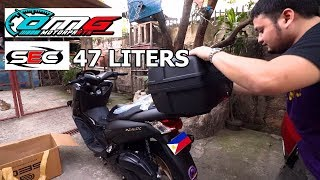 bUYING SEC 47 LITERS TOP BOX  SEC TOP BOX REVIEW