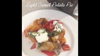 Healthy Sweet Potatoe Pie