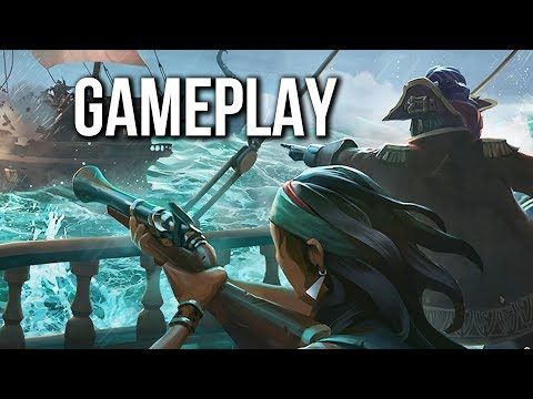 Sea of Thieves Gameplay - Closed Beta | BURIED TREASURE! (no commentary)